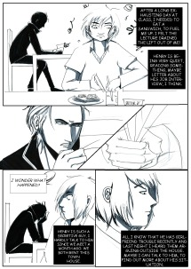 COMIC- The kitchen screen capter 1
