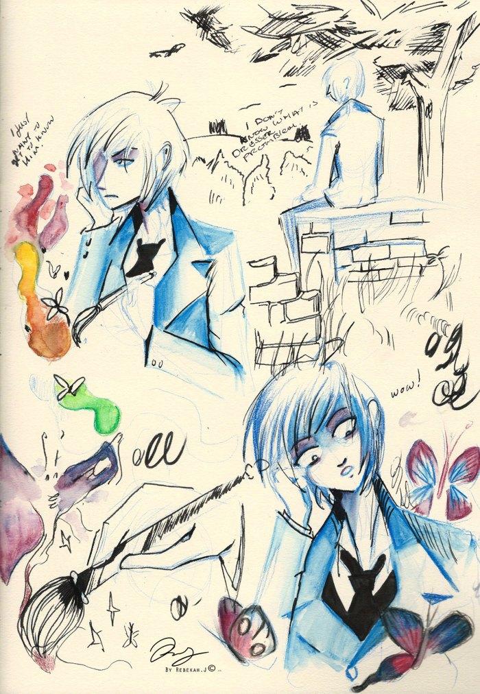Sketchbook Lance expressions. 2015