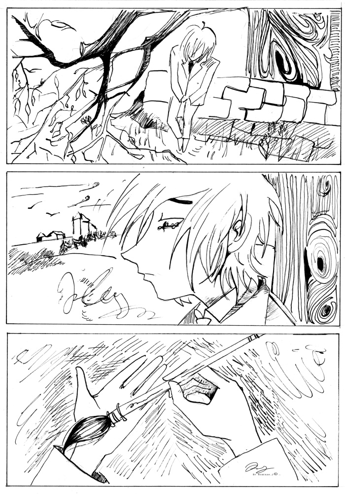 Lance comic chapter 2 page 2