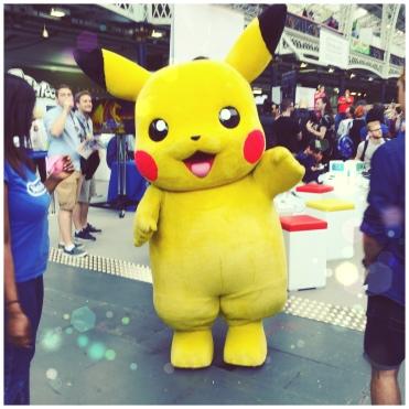 Pikachu. Hyper Japan Festival 2016