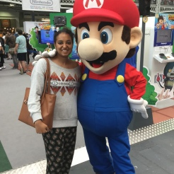 Hyper Japan Festival 2016 Super Mario and Me at the Hyper Japan festival