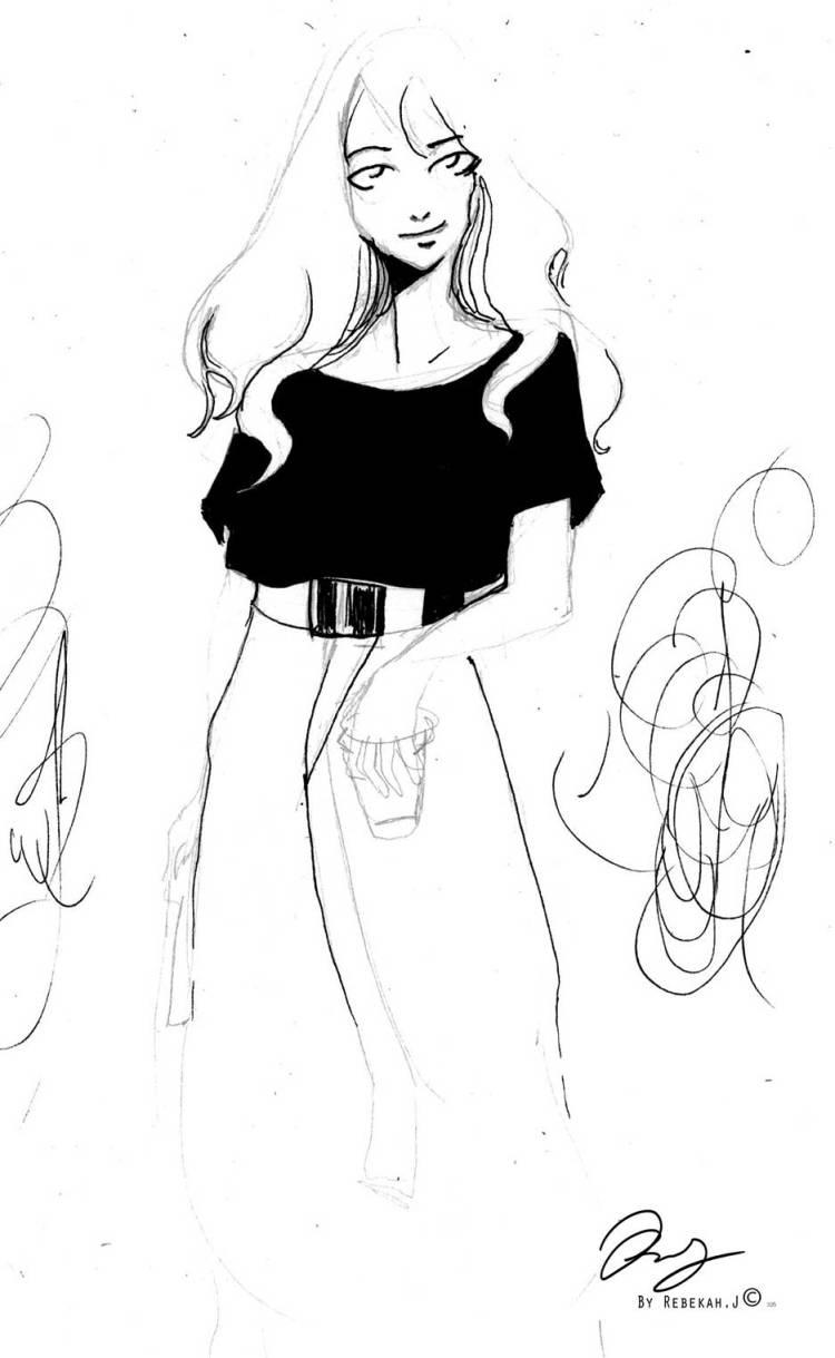 Sketchbook drawingby Rebekah Joseph, 2016