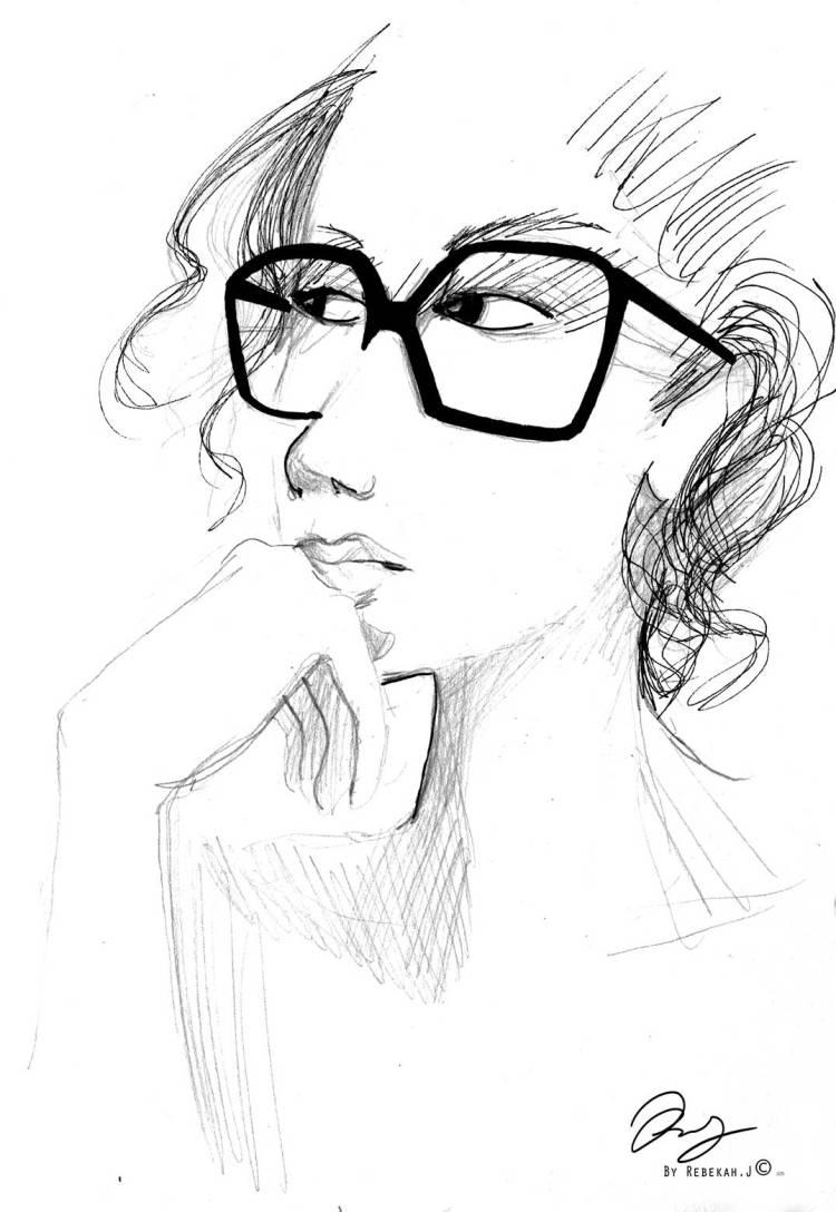 Portrait Drawing- Gabbie Vivas, by Rebekah Joseph