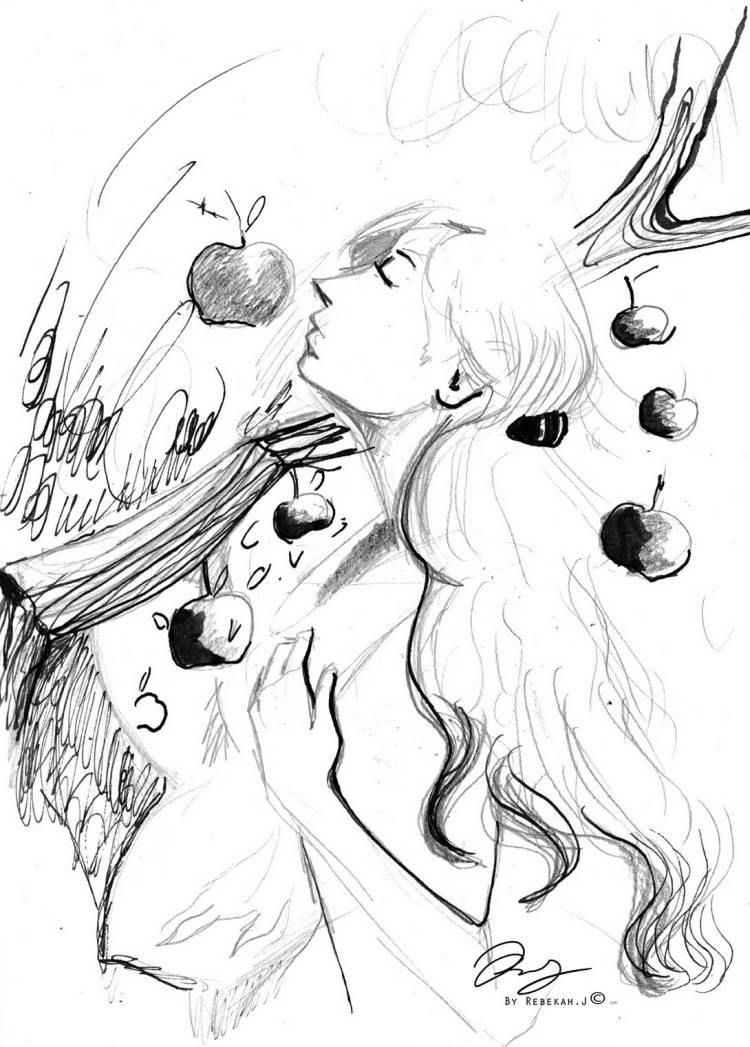 Apple Picking, 2016 by Rebekah Joseph