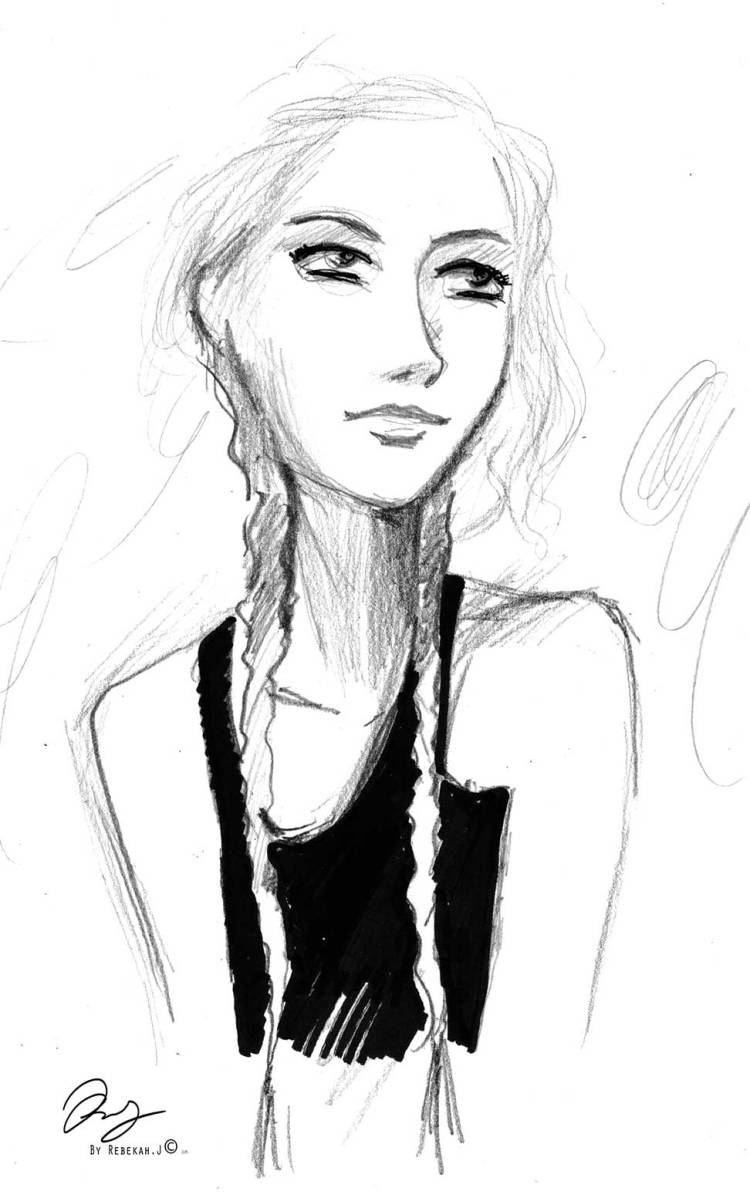Sketchbook drawing Rebekah Joseph 2016 pencil and pen