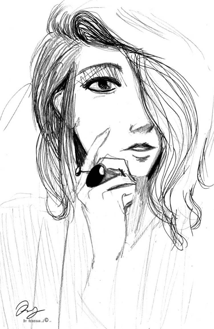 Sketchbook drawing by Rebekah Joseph 2016