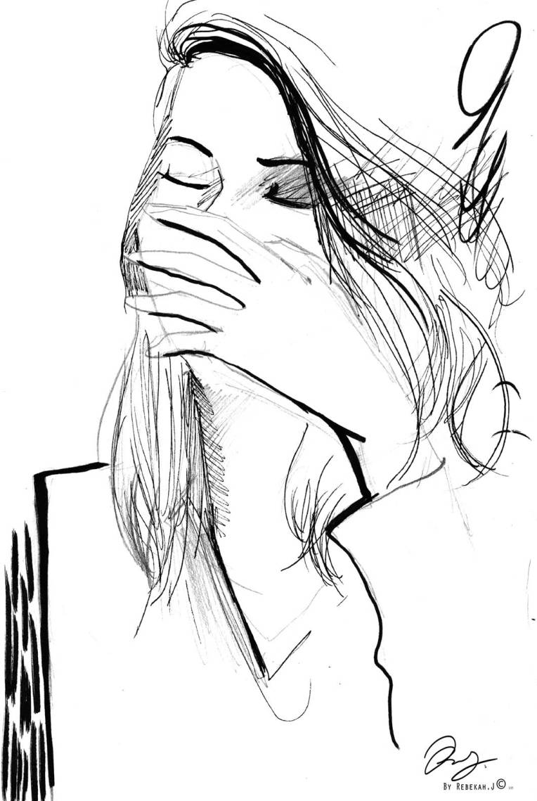Portrait Drawing - Riley Erin by Rebekah Joseph, 2016