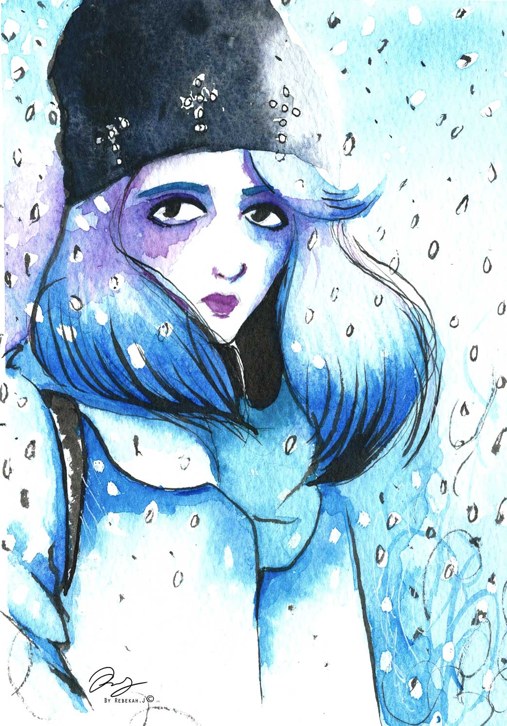 Snow by Rebekah Joseph , 2016