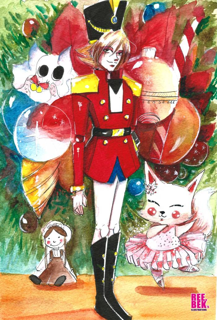 the-nutcraker-christmas-painting