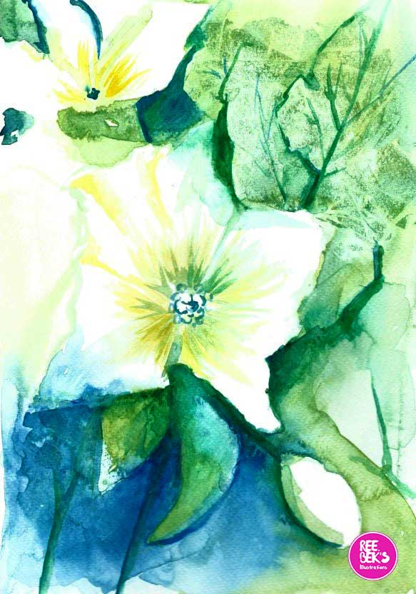 Painting Flowers