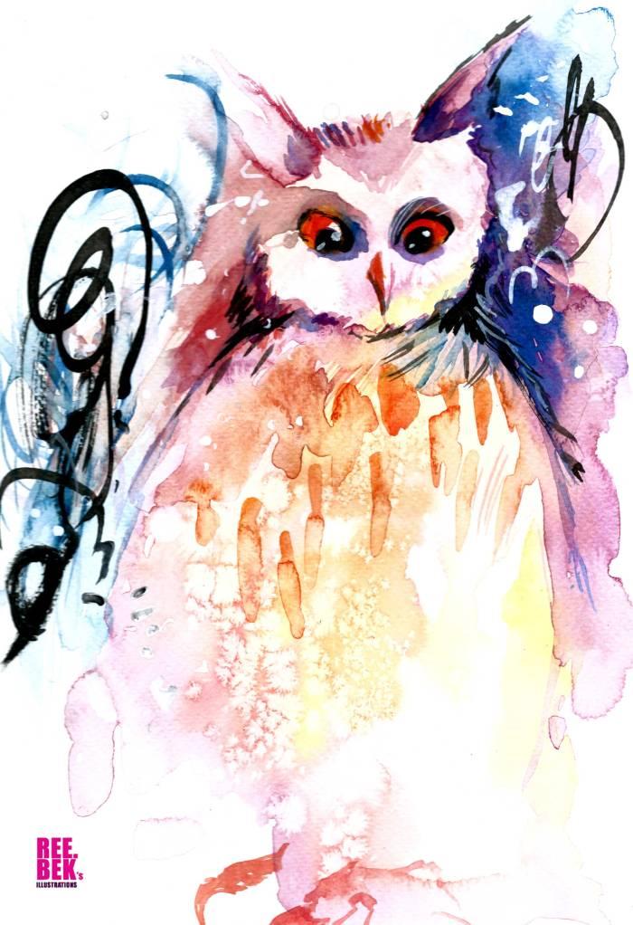 salt-owl-watercolour