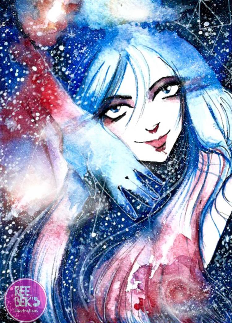Cosmos, Galaxy Painting