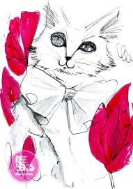 Sketchbook Drawings, pencil and ink by Rebekah Joseph 2017