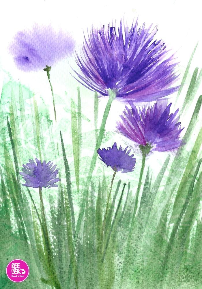 Herb paintings