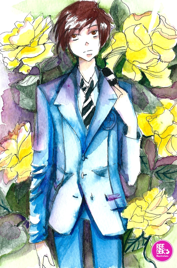 watercolour-yellow-roses-1