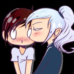 emote kiss