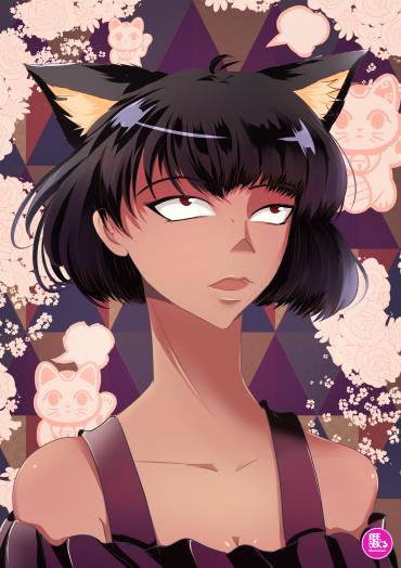 Cat Girl, drawn on Clip Studio Paint 2019 by Reebek J